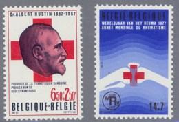 1977 Nr 1840-41** Het Belgische Rode Kruis, Postfris Zonder Scharnier. - Belgique