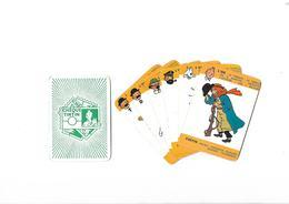 Lot De 6  Cartes Cheque Tintin  L Or - Cartes