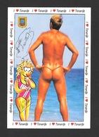 PIN UPS BOY - GAY INTEREST - ON  THE BEACH - BY ARMANDO PÉREZ DIAZ - Pin-Ups