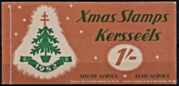 B5294 SOUTH AFRICA 1952 Complete Booklet Of Christmas TB Fund Labels - Unclassified