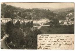 Houffalize - La Route De Bastogne - 1905 - Edit. Nels Serie 26/29 - 2 Scans - Houffalize