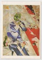 6153 Artist Marc Chagall  Painting Half -past Three The Poet - Paintings