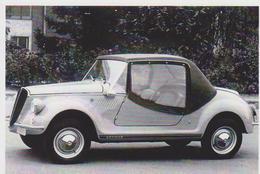CARTE POSTALE - FIAT 500 GAMINE DE 1967 A 1971 (VIGNALE) -  10X15 CM - PKW