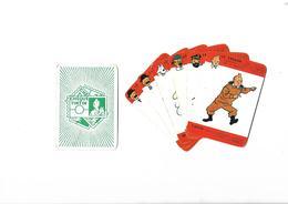 Lot De 6  Cartes Cheque Tintin  Le Trésor - Cartes