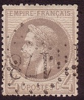 Napoléon III Lauré N° 27 4c Gris - 1863-1870 Napoleon III With Laurels