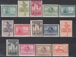 1929   Edifil Nº 434 / 447  /*/, - 1889-1931 Reino: Alfonso XIII