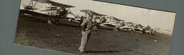 BRISTOL  PRIMARY TRAINERS EL BOSQUE SANTIAGO OF CHILEAN AIR FORCE CHILE   18 * 7 CM Aviation, AIRPLAIN, AVION AIRCRAFT - Aviation