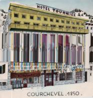 CPA COURCHEVEL  @ HOTEL TOURNIER @ - Otros Municipios