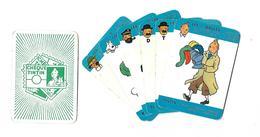 Lot De 6  Cartes Cheque Tintin  Les 7 Boules - Cartes
