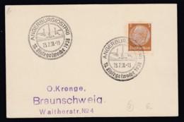 Deutsches Reich Karte Ungelaufen Sonderstempel 1938 Angerburg Ostpreussen Lot 465D - Deutschland