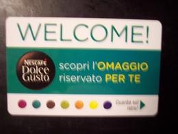 Nescafè Dolce Gusto (trading Card, Tessera, Key, Gift Card, Pubblicità, Buono... - Gift Cards