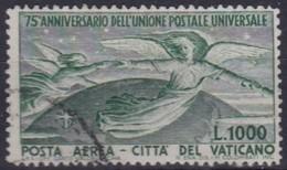 Vatican    .    Yvert   .   Airmail   19        .    O     .        Cancelled - Posta Aerea