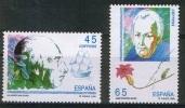 ESPAÑA 1993 - EXPLORADORES Y NAVEGANTES MALAESPINA Y MUTIS  - Edifil Nº 3267-3268 . Yvert 2859-2860 - 1931-Hoy: 2ª República - ... Juan Carlos I