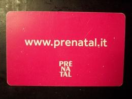 Prenatal (trading Card, Tessera, Key, Gift Card, Pubblicità, Buono, Carta Fedeltà... - Gift Cards