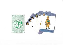 Lot De 6  Cartes Cheque Tintin  Objectif - Cartes