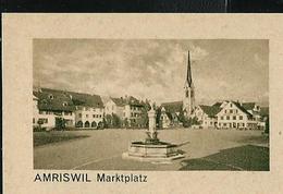 Carte Illustré Neuve N° 182 - 018 D   AMRISWIL Markplatz (Zumstein 2009) - Entiers Postaux