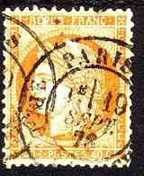 1870 SIEGE DE PARIS 40 C. ORANGE N.38 - 1863-1870 Napoleon III With Laurels