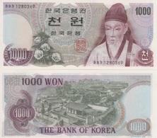 (B0174) SOUTH KOREA, 1975 (ND). 1000 Won. P-44. UNC - Korea, South
