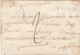 PUY-DE-DOME.  1846.   T15 CUNLHAT  POUR  TAILLEUR DE PIERRE ARLANC   /  1 - 1801-1848: Precursors XIX