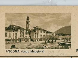 Carte Illustré Neuve N° 182 - 028  D   - ASCONA (Lago Maggiore)  (Zumstein 2009) - Entiers Postaux