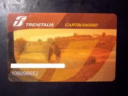 Trenitalia Cartaviaggio (trading Card, Tessera, Pubblicità, Carta Fedeltà, Gift Card, Ferrovia, Ferrovie, Treni, Train.. - Gift Cards