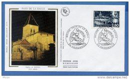 L4T214 FRANCE 1994 FDC Pays De La Saulx 2,80f Haironville 02 07 1994/ Env. Illus. - FDC