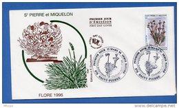 L4T327 SAINT PIERRE MIQUELON 1996 FDC Le Forgeron 1,50 1,80 Saint Pierre 10 04 1996/ Envel.  Illus. - FDC
