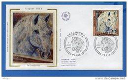 L4T409 FRANCE 1978 FDC Le Percheron 1,70f Paris 07  01 1978/env. Illus. - Ferme
