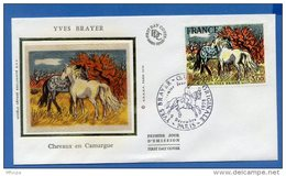 L4T461 FRANCE 1978 FDC Brayer Chevaux En Camargue 2,00 Paris 09 12 1978/env. Illus. - Moderne