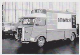 CARTE POSTALE - Citroen Tube H Hy Fotowacht De 1965 -  10X15 CM - Turismo