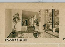 Carte Illustré Neuve N° 182 - 039 D - BADEN Bei Zürich  (Zumstein 2009) - Entiers Postaux