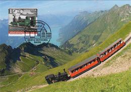 Maximumkarte 2017 Brienzer Rothorn Bahn / Railway / Chemins De Fe / Ferrovie - Cartes-Maximum (CM)