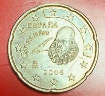 SPAGNA - 2006 - Moneta - Ritratto Di Miguel De Cervantes - Euro - 0.20 - Spagna