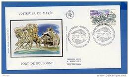 L4T746 FRANCE 1996 FDC Voiturier De Marée 3,00f Boulogne Sur Mer 20 09 1997/env. Illus. - FDC