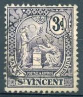 Saint Vincent - 1907/1908 - Yt 75 - Série Courante - Oblitéré - St.Vincent (...-1979)