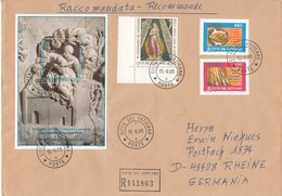 Vaticano - 1995 - Raccomandata Per L'estero - Vatican