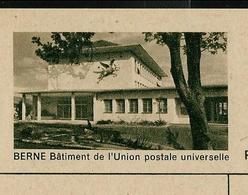 Carte Illustré Neuve N° 182 - 068 D - BERNE Bâtiment De L' Union Postale Universelle   (Zumstein 2009) - Entiers Postaux