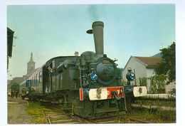 88 -- MOYENMOUTIERS - CHEMIN DE FER A VAPEUR DU RABODEAU EN GARE....(train...) - Other Municipalities