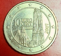 AUSTRIA - 2007 - Moneta - Cattedrale Di Santo Stefano - Euro - 0.10 - Austria