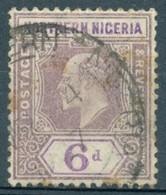 Nigéria Du Nord - 1904/1905 - Yt 24 - Série Courante Edouard VII - Oblitéré - Nigeria (...-1960)