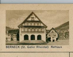 Carte Illustré Neuve N° 182 - 069 D - BERNECK (St. Galler Rheintal) Rathaus   (Zumstein 2009) - Entiers Postaux