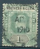 Nigéria Du Nord - 1910/1911 - Yt 25 - Série Courante Edouard VII - Oblitéré - Nigeria (...-1960)