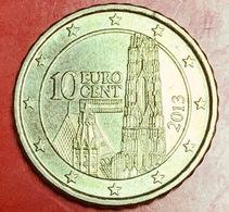 AUSTRIA - 2013 - Moneta - Cattedrale Di Santo Stefano - Euro - 0.10 - Austria