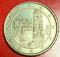 AUSTRIA - 2014 - Moneta - Cattedrale Di Santo Stefano - Euro - 0.10 - Austria