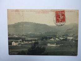 St Etienne - Au Premier Plan, Caserne Du 5e Bataillon De Chasseurs - Au Fond Remiremont - Saint Etienne De Remiremont