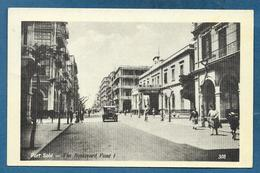 EGYPT PORT SAID THE BOULEVARD FOUAD I° 1935 - Port Said