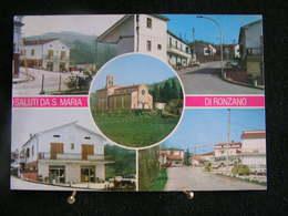 AN 110 - Italie - Saluti Da S. Maria Di Ronzano -  Multicarte - Circulé 1981 - Italy