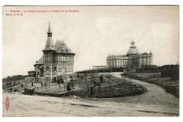 Namur - Le Chalet Forestier Et L'hôtel De La Citadelle - Edit. Albert Sugg Série 51/65 - 2 Scans - Namur