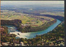 °°° 13283 - SVIZZERA - SH - NEUHAUSEN AM RHEINFALL - FLUGAUFNAHME - 1971 With Stamps °°° - SH Schaffhouse
