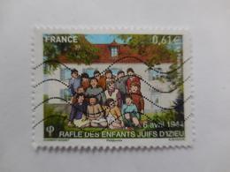 Commémoration De La Rafle Des Enfants D'IZIEU - France